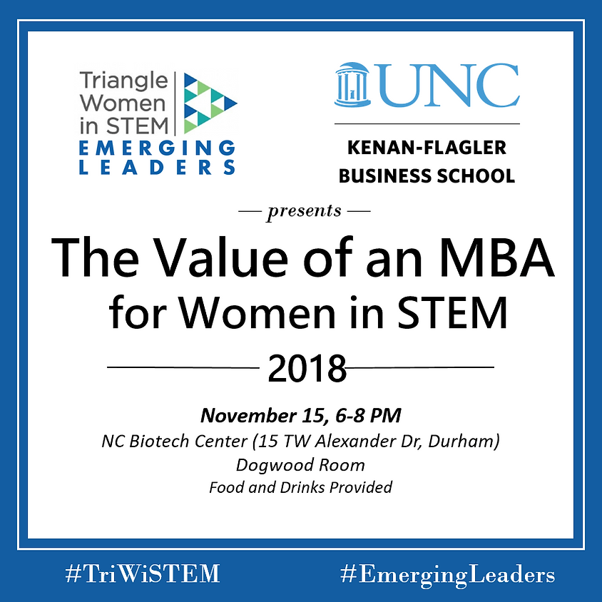 The Value of an MBA for Women in STEM