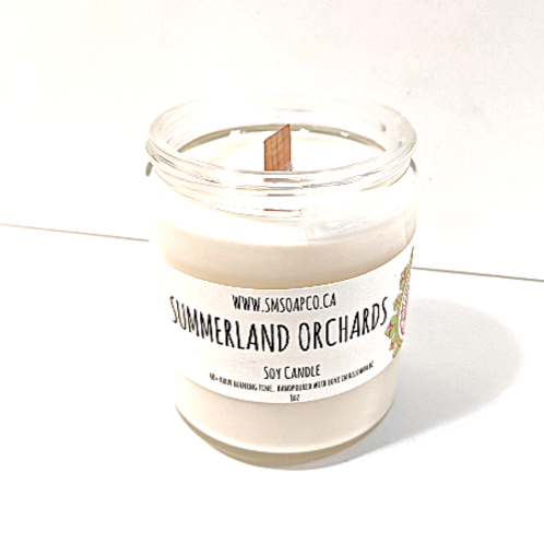 SM Soap Co. - Summerland Orchards Soy Candle