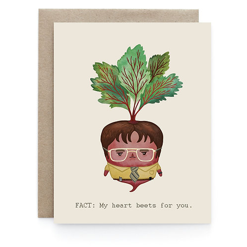 Art + Soul Creative Co. - Beet Farmer Card
