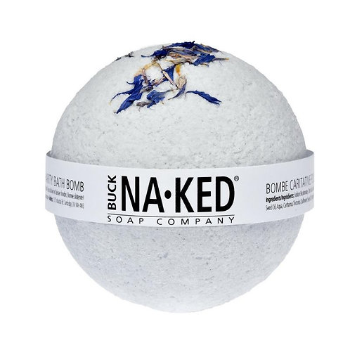 Buck Naked Soap Co. - Indigo Bath Bomb
