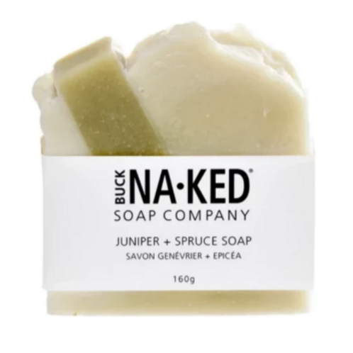 Buck Naked Soap Co. - Juniper & Spruce Soap