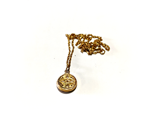 Jewelry By Amanda - 14k Gold Filled Eye Necklace