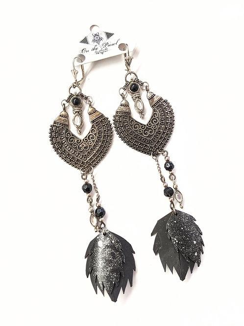 Phresha - Ornamental Rubber Earrings