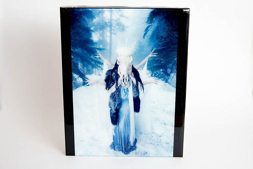 Brutally Beautiful - Ice Queen Print on Wood