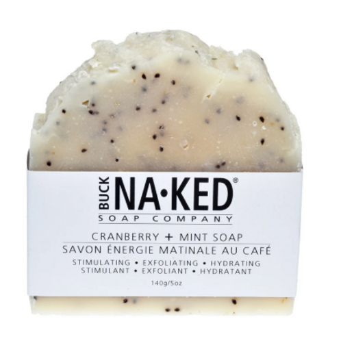 Buck Naked Soap Co. - Cranberry & Mint Soap