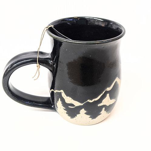Prairie Willow Pottery - Black Mountains Mug
