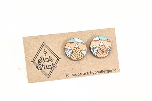Sick Chick - Wooden Mountain Studs
