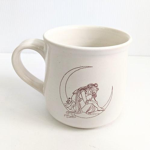 Tiny Cat Pottery - Sakura Blossom Moonie Mug