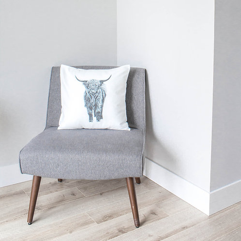 Pen On Paper Co. - Highland Cow Pillowcase