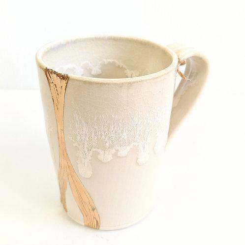 Lisa Martin Pottery - Gold River Mug