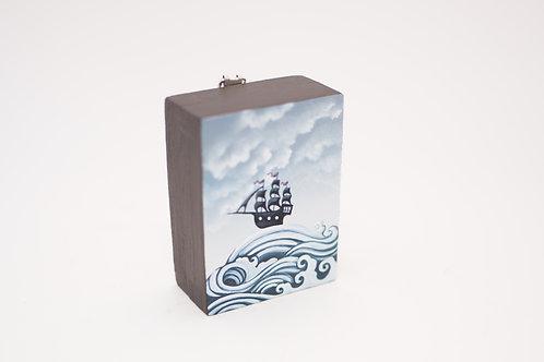 Jolene Mackie - Mini Ship Painting
