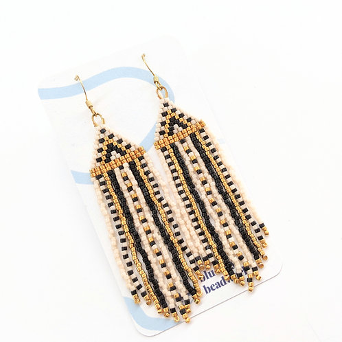 Blue Jay Beadwork - Beaded Earrings