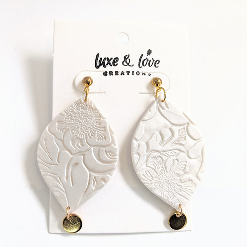 Luxe & Love Creations - Dangly Floral Earrings