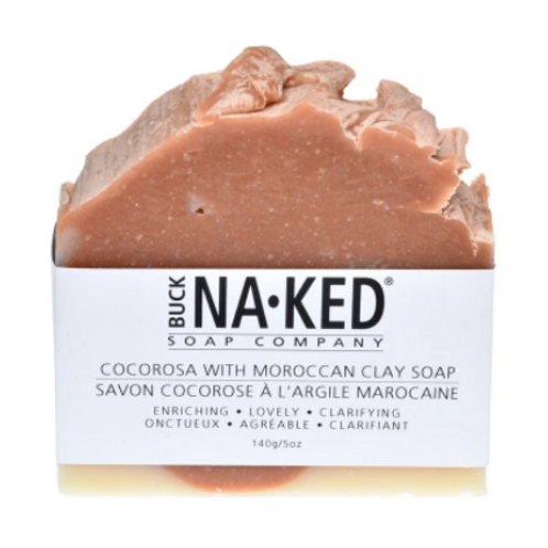 Buck Naked Soap Co. - CocoRosa & Moroccan Clay Soap