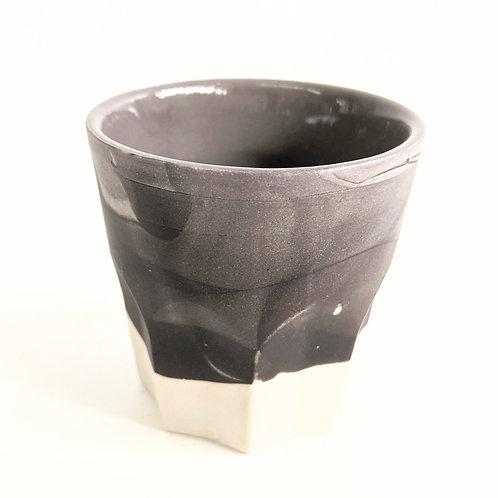 Rachael Kroeker Ceramics - Single Marbled Espresso Cup