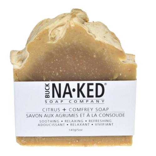 Buck Naked Soap Co. - Citrus & Comfrey Soap