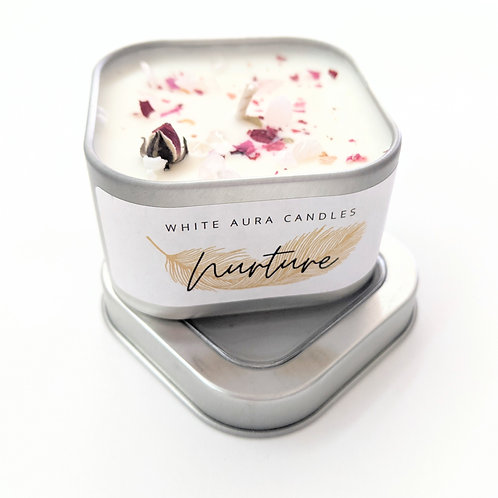 White Aura Candles - Mini Nurture Candle