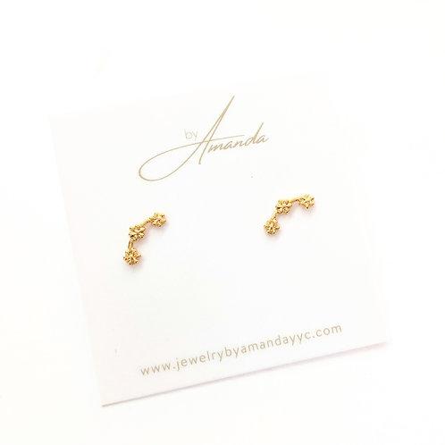Jewelry By Amanda - Gold Monica Earrings