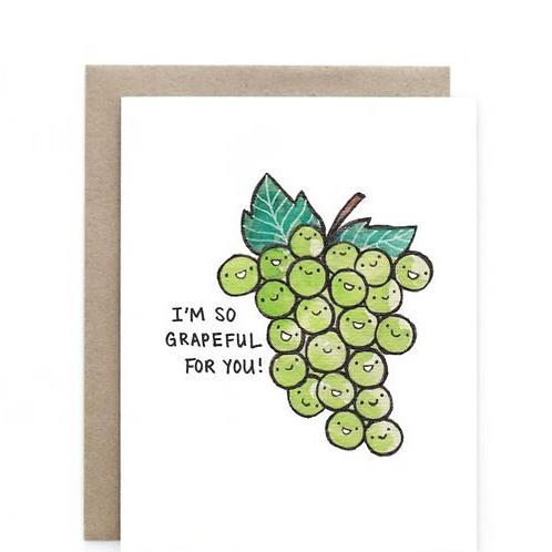 Art + Soul Creative Co. - Grapeful for You Card