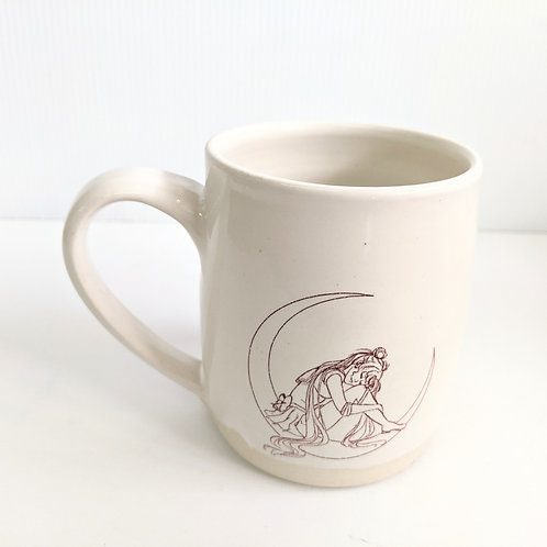 Tiny Cat Pottery - Tall Moonie Mug