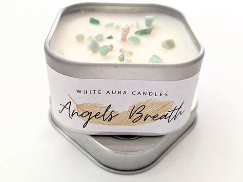 White Aura Candles - Mini Angel's Breath Candle