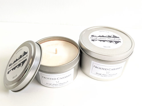 North Arrow Handcrafts - Frosted Caramel Candle