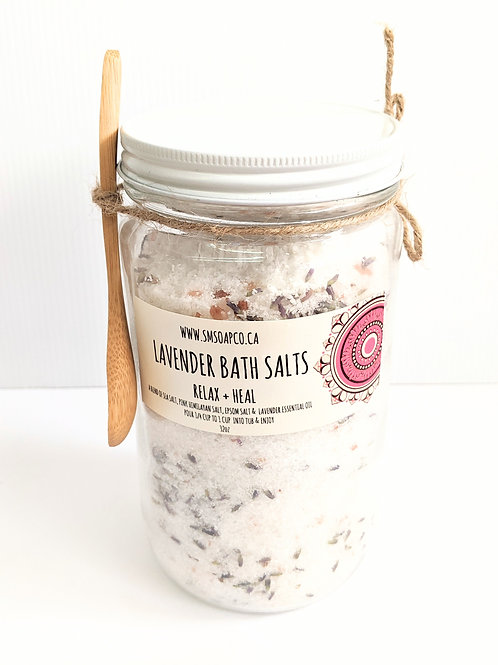 SM Soap Co. - Lavender Bath Salts