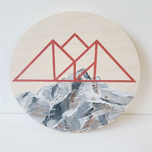 Brass Candy - 'The Mountains Are Calling' Painting