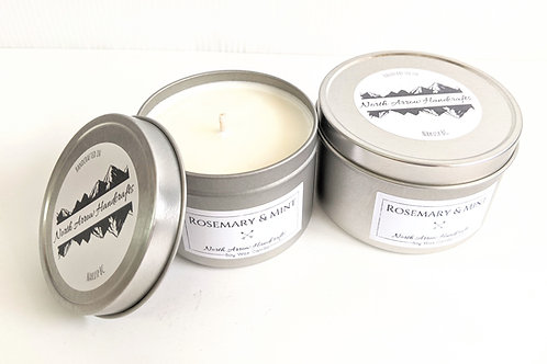 North Arrow Handcrafts - Rosemary & Mint Candle