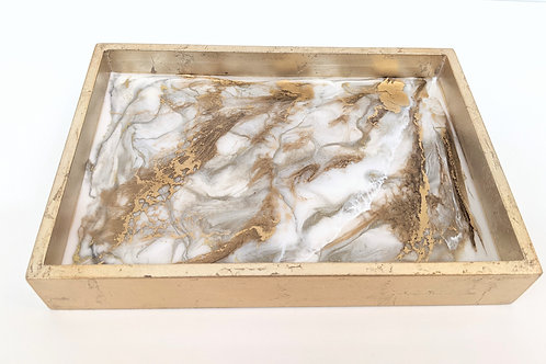 Rebecca Emily - Gold Serving Tray