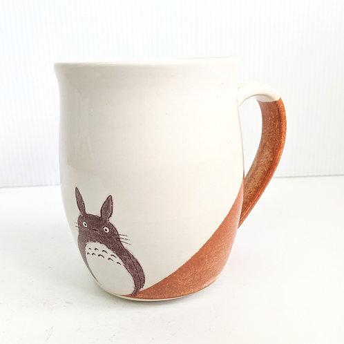 Tiny Cat Pottery - Cinnamon Totoro Mug