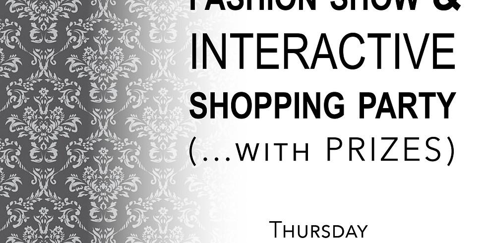 Virtual Fashion Show & Interactive Shopping Party