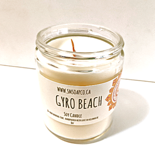 SM Soap Co. - Gyro Beach Soy Candle