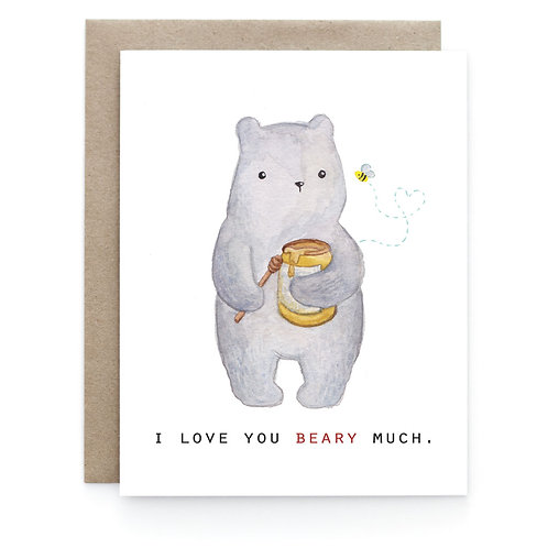 Art + Soul Creative Co. - Love You Beary Much Card