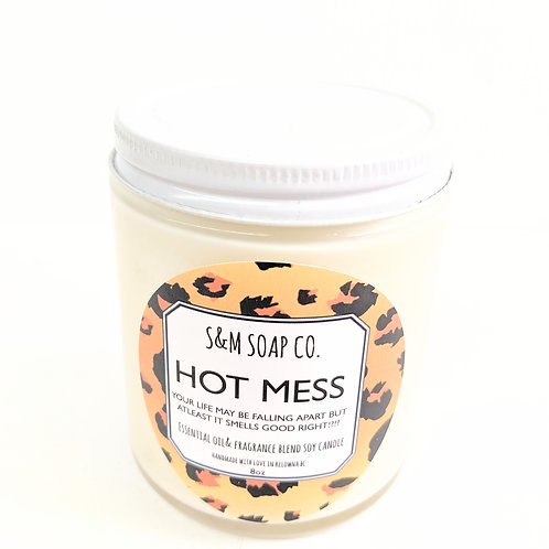 SM Soap Co. - Hot Mess Candle