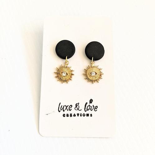 Luxe & Love Creations - Dangly Sunshine Earrings