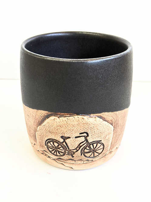 Restless Winds Pottery - Bicycle Tumbler