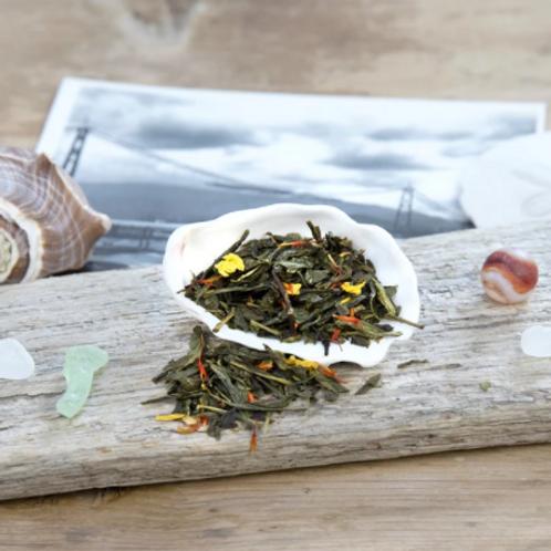 Davis Bay Tea - Peach Ginger SenchaTea