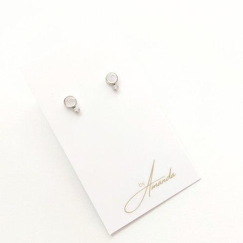 Jewelry By Amanda - Silver Juliet Earrings