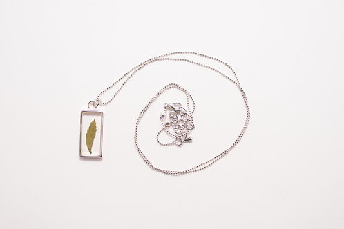 Flora and Forest - Leather Fern Necklace