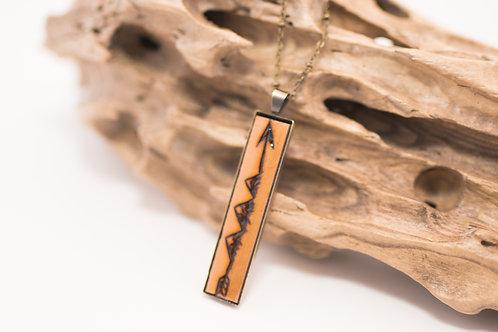 Tiny Timber Designs - Medium Wood Pendant