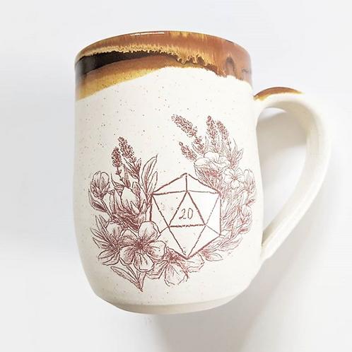 Tiny Cat Pottery - D20 Mug Large