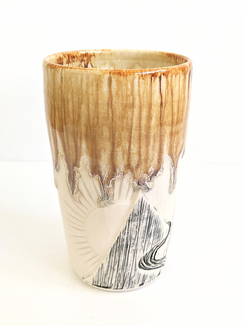 Lisa Martin Pottery - Honey Mountain Mug