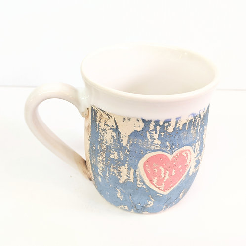 Restless Winds - Tattooed Heart Mug