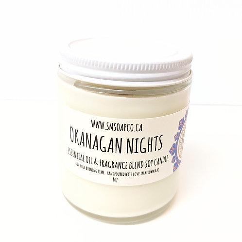 SM Soap Co. - Okanagan Nights Soy Candle