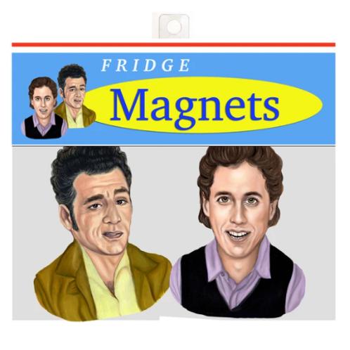 Andrea Hooge - Jerry & Kramer Magnets Pack