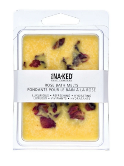 Buck Naked Soap Co. - Rose Bath Melts