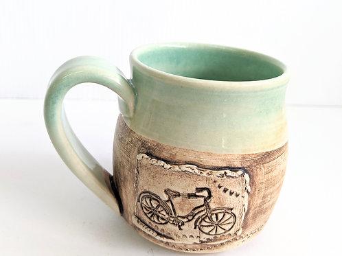 Restless Winds - Mint Bicycle Mug