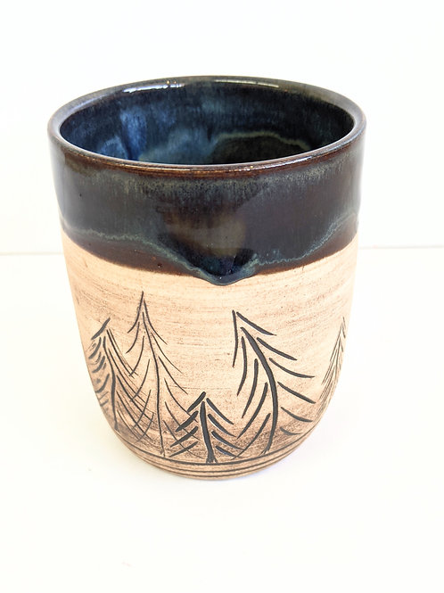 Restless Winds Pottery - Tree Tumbler