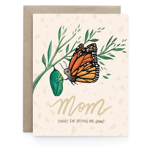 Art + Soul Creative Co. - Butterfly Mom Card